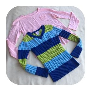 Other - 6/$15 7/8 M Children's Place sweater & Cherokee to